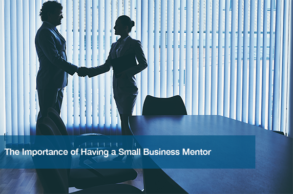 Having a small business mentor is important