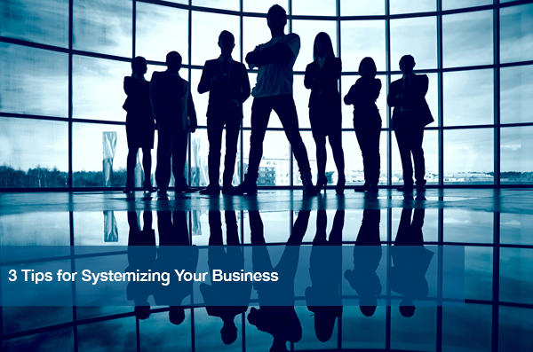 A group of people ready to begin systemizing their business