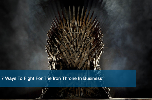 Lessons learned from Game of Thrones